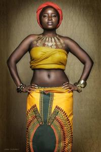 We don't have to be a size 0 to be beautiful! We are African! We are beautiful!
